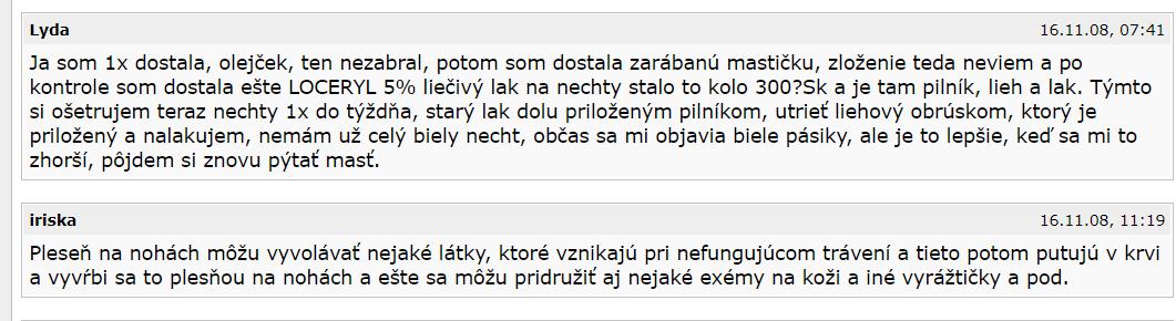 Loceryl fórum