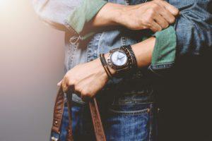 magnetický náramok na ruku