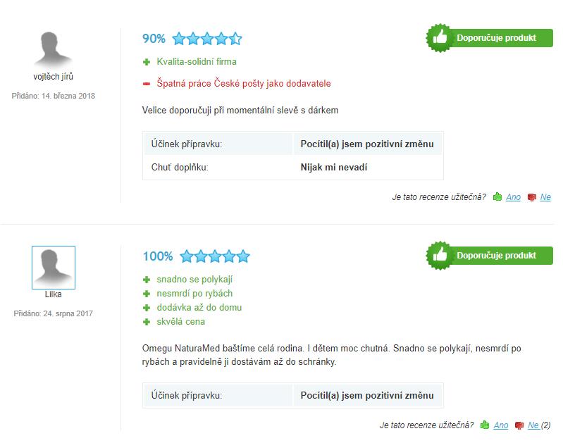 OmegaMarine Forte plus hodnotenie