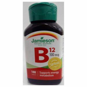JAM-VITAMIN B12 100MCG 100 TBL