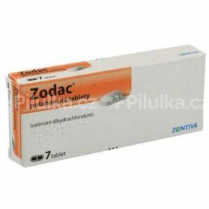 ZODAC tablety 10 mg 7 ks
