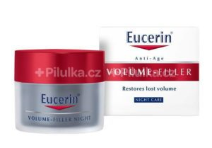 Eucerin VOLUME-FILLER Nočný krém Anti-Age, 50 ml