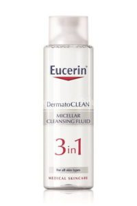 Eucerin DERMATOCLEAN čistiaca micelárna voda 3v1 400 ml