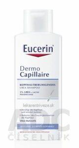 Eucerin DermoCapillaire 5% Urea šampón pre suchú pokožku 1×250 ml