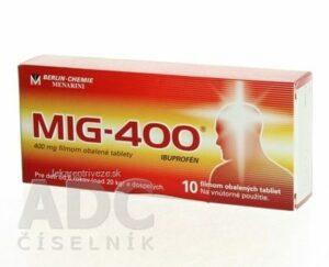 MIG-400 tbl flm 400 mg (blis.) 1×10 ks