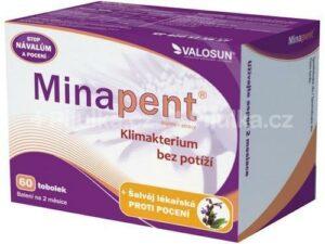 VALOSUN Minapent + šalvia 60 cps