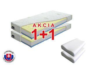 Penový matrac Benab Visco Plus 200×90 cm (T3/T4) *AKCIA 1+1 + dva vankúše zadarmo