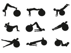 Ako cvičiť na fit lopte doma?