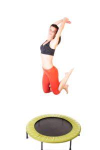 Cvičením na trampolíne získate vysnívanú postavu a dobrú náladu