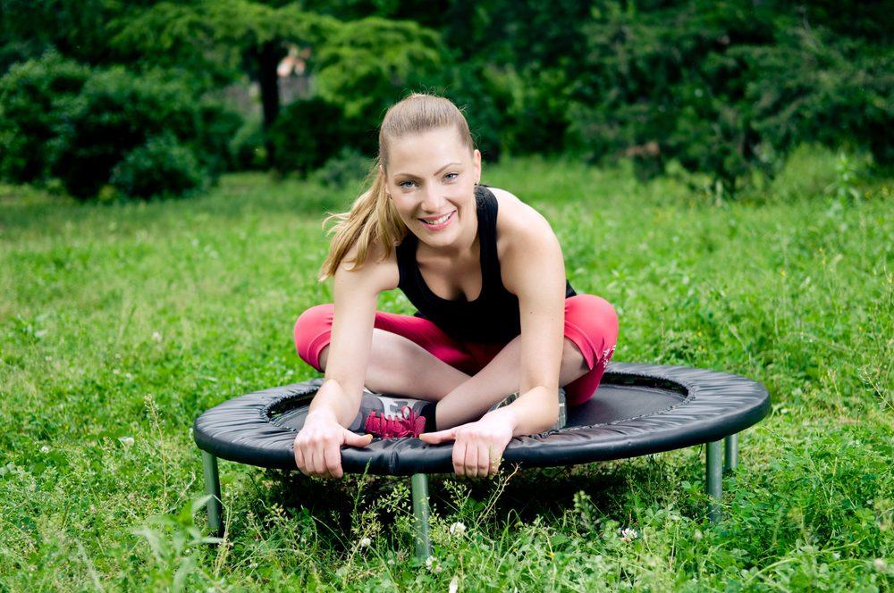 Cvičenie na trampolíne vylepší postavu aj náladu