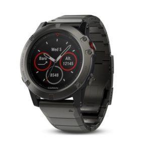 Garmin Fenix 5X hodinky na beh, cyklistiku, plávanie a turistiku
