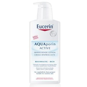 Eucerin Hydratačné telové mlieko pre suchú pokožku AQUAporin Active 400 ml