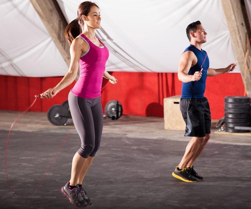 Skákanie na švihadle patrí medzi kondičné cvičenia