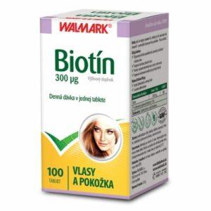 Biotín Walmark 300 mcg 100 tbl