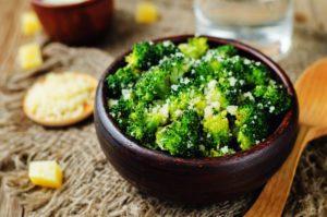 brokolica s cesnakom podľa mačingovej