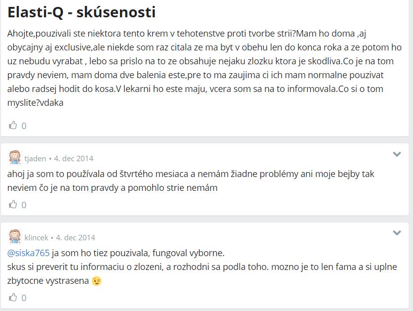 Elasti-Q Exclusive - skúsenosti