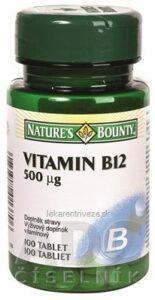 N. BOUNTY VITAMÍN B12 500 µg tbl 1×100 ks