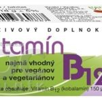 NATURVITA VITAMÍN B12 tbl 1×60 ks