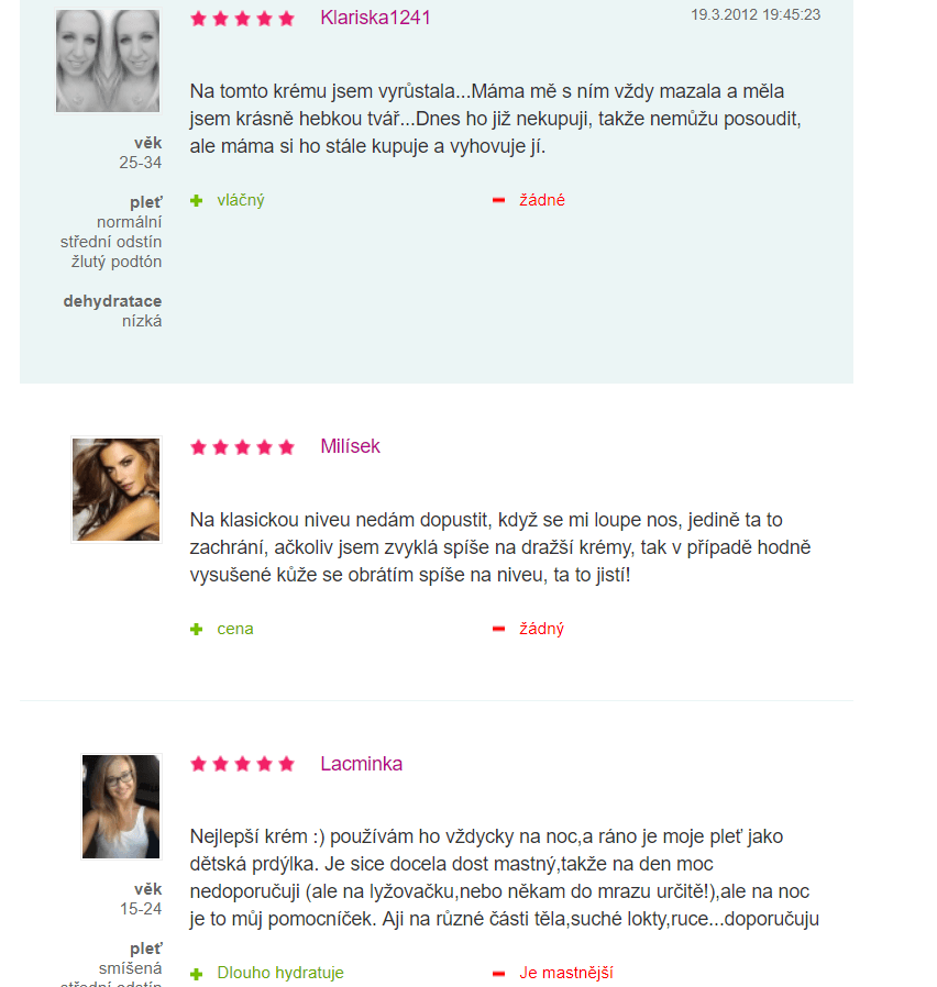 NIvea- recenzie