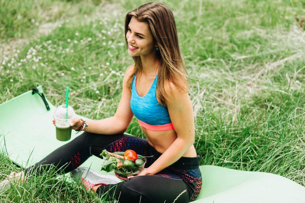 Pohyb a vyvážená zdravá strava = účinná prevencia proti striám