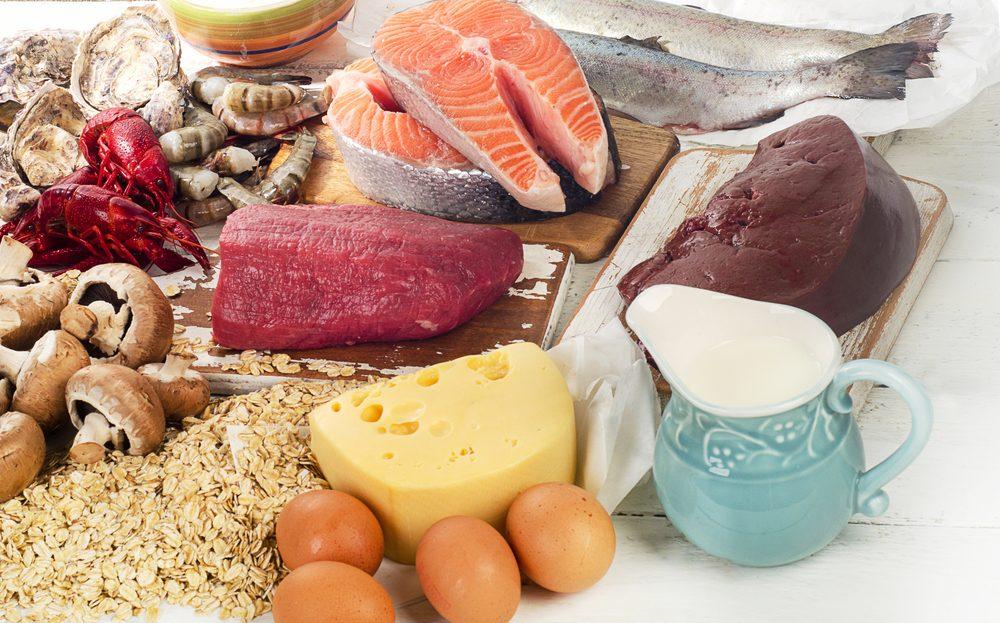 Prírodzené zdroje vitamínu B12