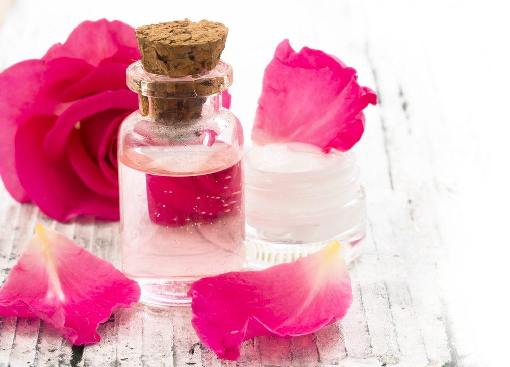 Použitie ružovej vody