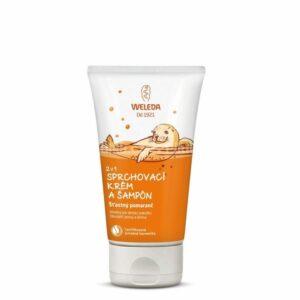 WELEDA 2 v 1 sprchovací krém a šampón Šťastný pomaranč 150ml