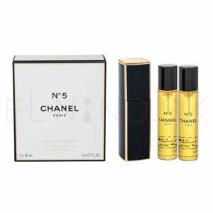Chanel No.5, 3 x 20 ml
