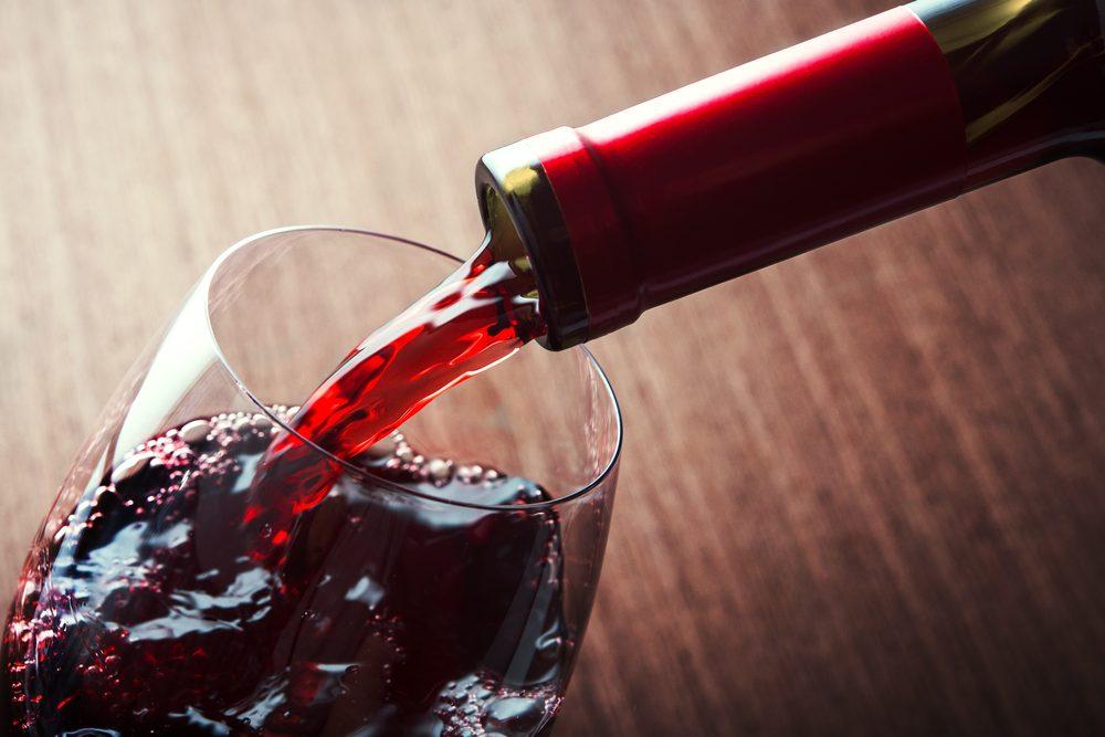 červené víno je pri histamínovej diéte nevhodné