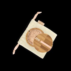 Hodvábny minerálny make-up Zao z ryžového prášku