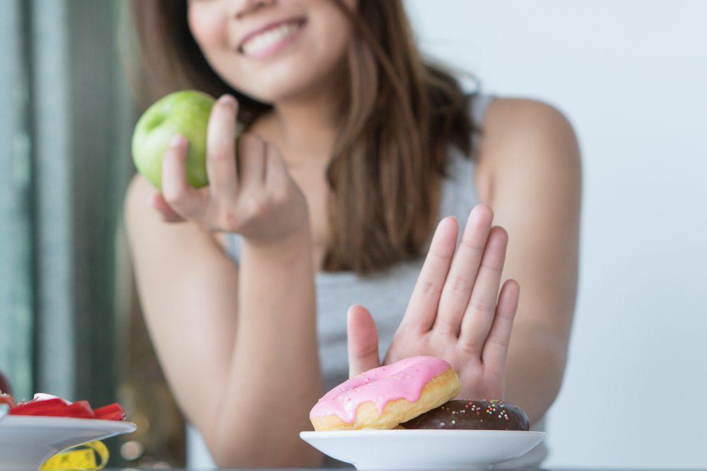 Jablčný ocot znižuje chuť na sladké