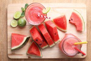 recept na melónové smoothie