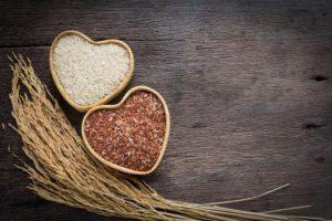 vplyv ryžovej diéty na zdravie