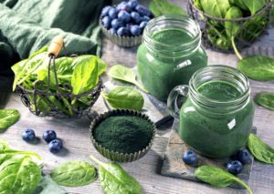 spirulína do smoothie