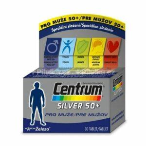 Centrum Silver 50+ pre mužov 30 tbl