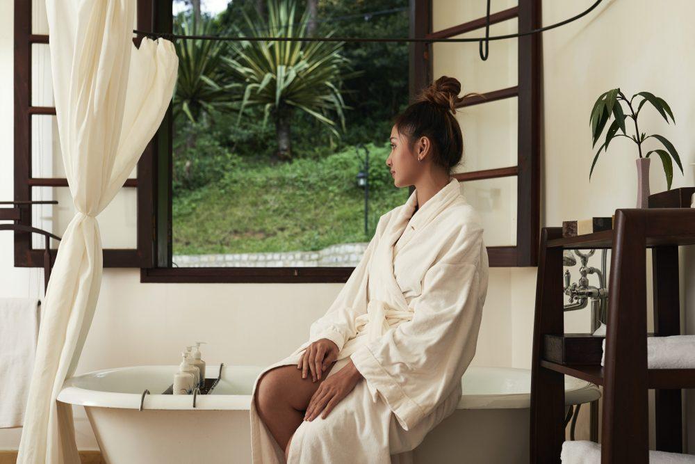 Kúpeľ s extraktom chaga pôsobí blahodarne na pokožku