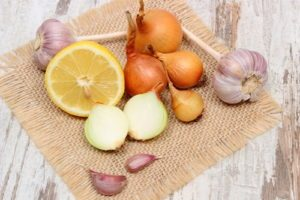 Cibuľa, cesnak, citrón