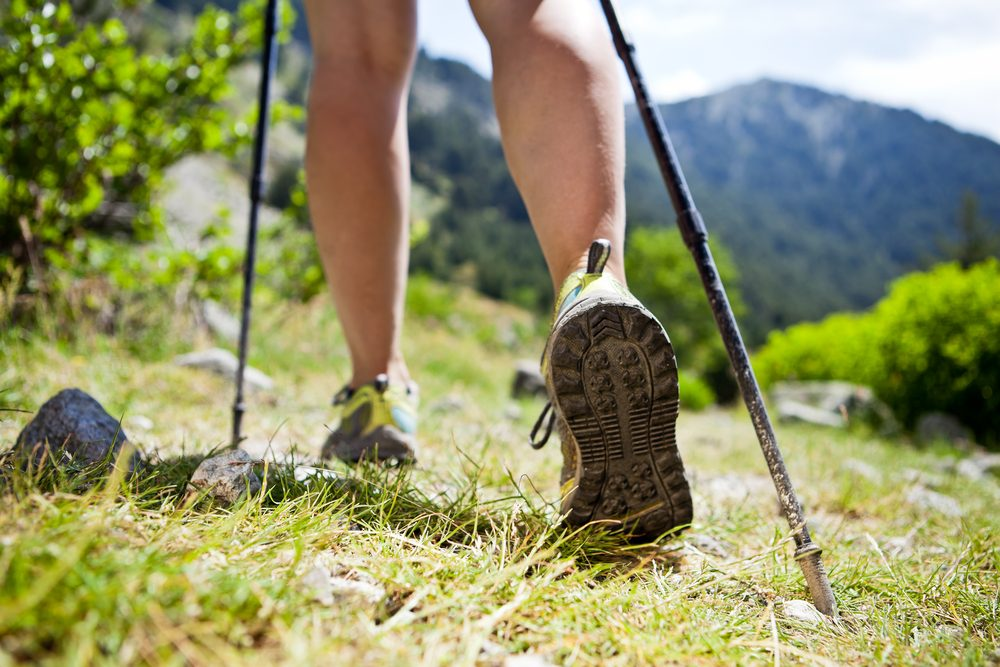 nordic walking pri dnovej diéte