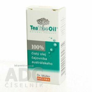 Dr. Müller Tea Tree Oil 100% čistý olej 1×10 ml