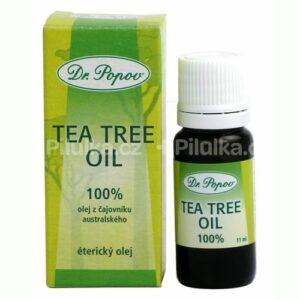 DR. POPOV TEA TREE OLEJ prírodný 100% olej z čajovníka austrálskeho 11 ml