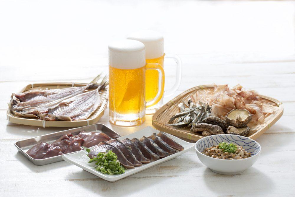 pivo, ryby a mäso pri dnovej diéte