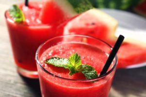 melónové smoothie