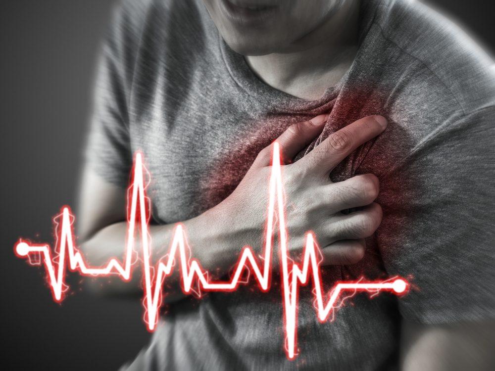 Prekyslenie organizmu môže viesť až k srdcovému záchvatu