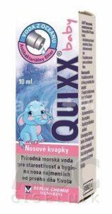 QUIXX baby 0,9% nosové kvapky 10 ml