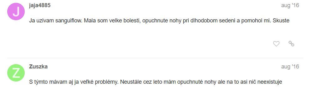 SanguiFlow diskusia