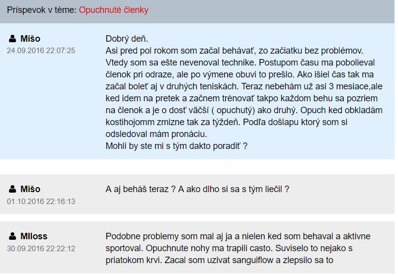 SanguiFlow - diskusia