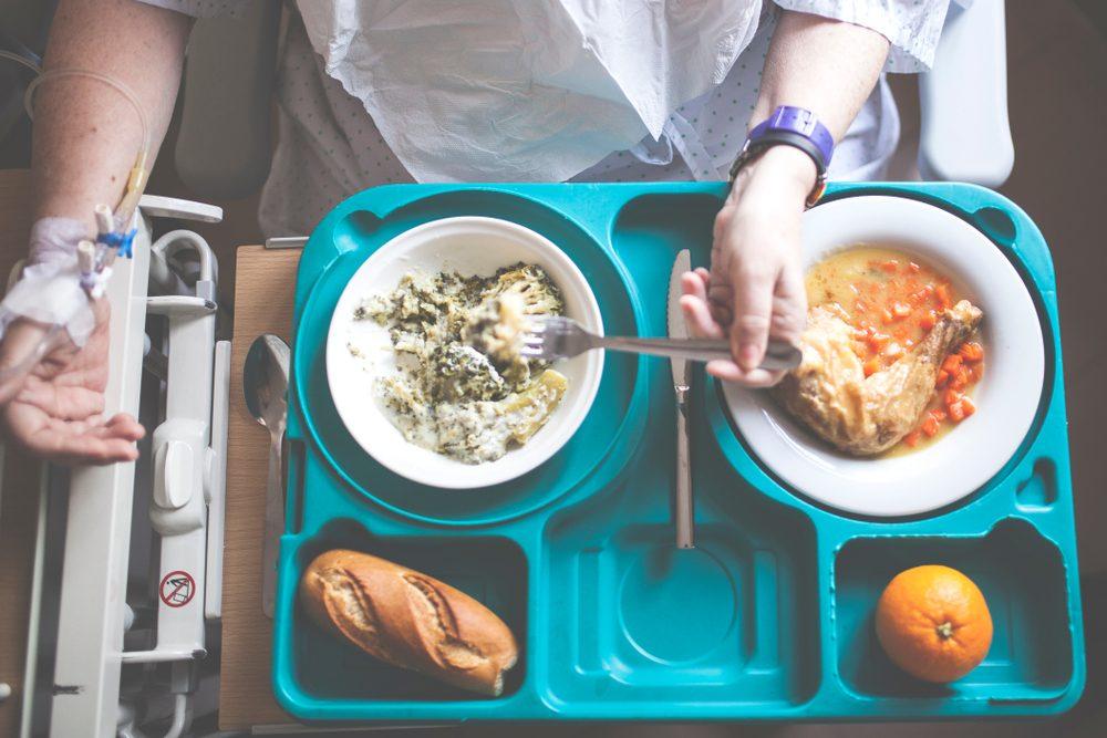 šetriaca diéta v nemocnici