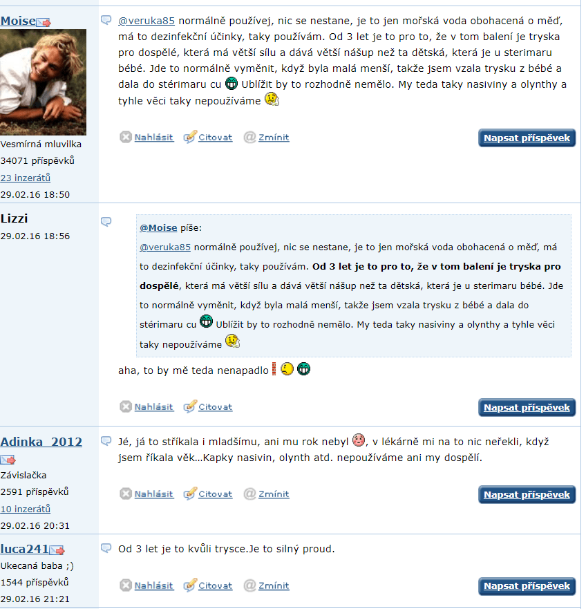 Sterimar- diskusia mamičiek na Emimine