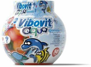 VIBOVIT+ AQUA Gummies želatínové zvieratká, 50 ks