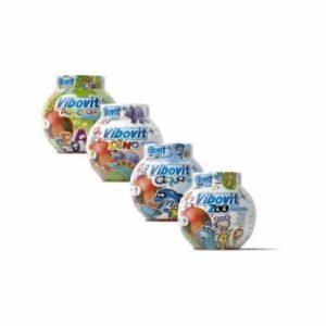 Vibovit+ Dino želé s ovocnou príchuťou 50 ks